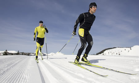 Cross-country skiing in Salzburg